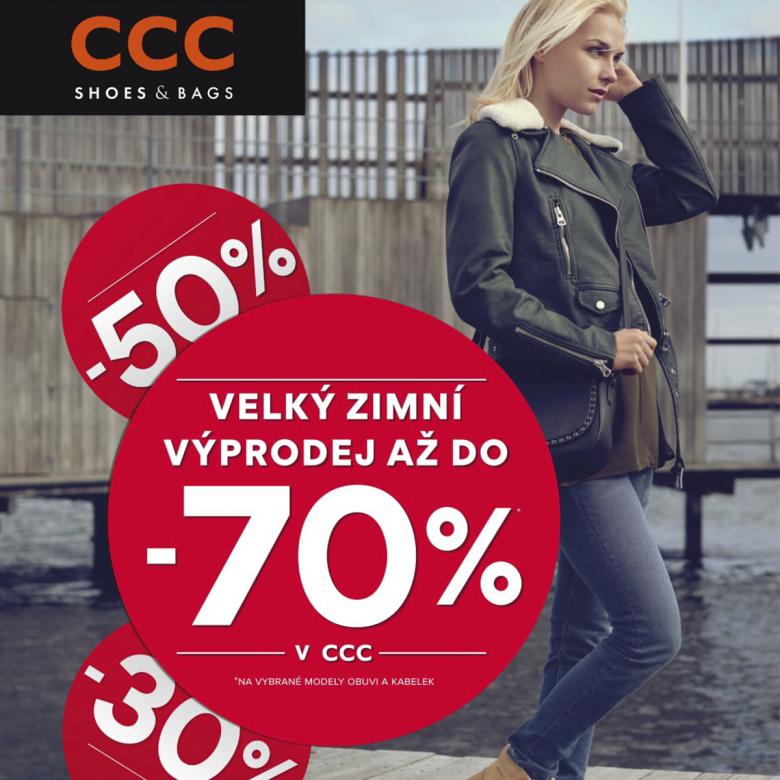 Užíjte si naplno velký zimní výprodej v CCC. Čekají na vás slevy až 70%. 5c15c72a21
